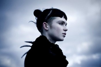 """Grimes from the """"Crystal Ball"""" video"""